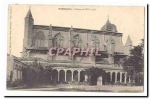 Marmande Old Postcard Cloitre the 16th
