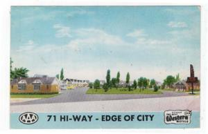 Fort Smith, Arkansas,  Early View of Terry's Motor Court