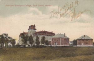 Stanstead Wesleyan College , Rock Island , Quebec , Canada , PU-1903
