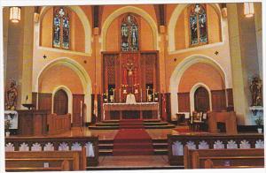 Interior , St. Augustine's Church , VANCOUVER , B.C., Canada , 50-60s