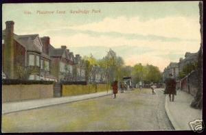 kent, SUNDRIDGE Park, Plaistrow Lane (1908)