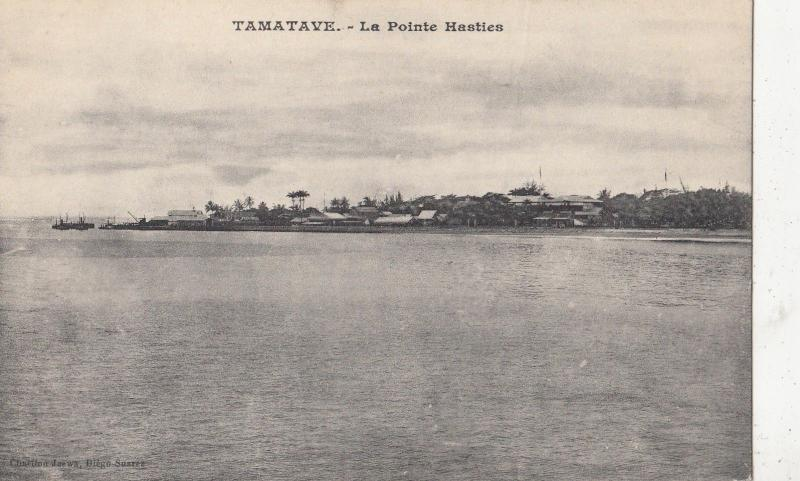 B81181 tamatave la pointe hasties madagascar  front/back image