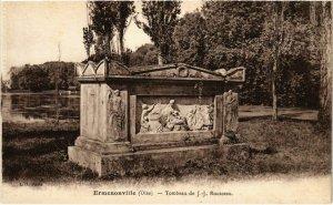 CPA Ermenonville- Tombeau de J.J. Rousseau FRANCE (1020483)