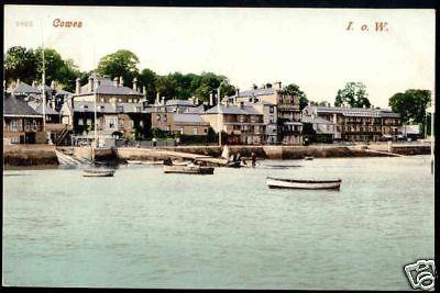 i.o.w., COWES, View from the Sea (ca. 1930)