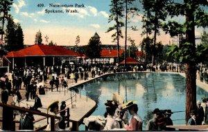 Washington Spokane Natatorium Park 1915