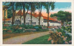 Hawthorn Spring State Reservation Building - Saratoga Springs NY, New York - WB