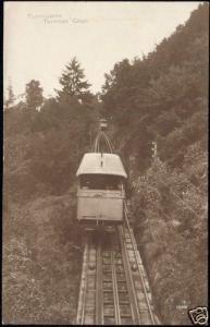 switzerland, TERRITET-GLION, Funicular Train 1914 RPPC