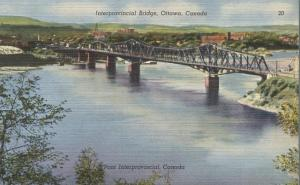 Interprovincial Bridge - Ottawa ON, Ontario, Canada - Linen
