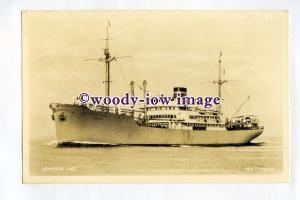 pf0338 - Swedish Johnson Line Cargo Ship - Paraguay , built 1947 - postcard
