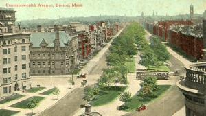 MA - Boston, Commonwealth Avenue