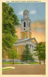 NC - Winston-Salem. First Baptist Church