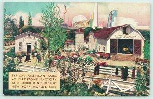 New York City~1939 World's Fair~Firestone Tire Factory American Farm Exhibition