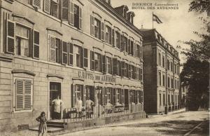luxemburg, DIEKIRCH, Hotel des Ardennes (1920s)