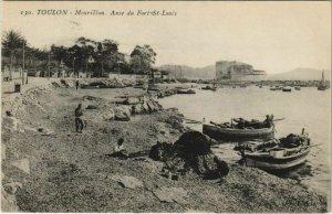 CPA Toulon Mourillon ,Anse du Fort St Louis FRANCE (1096039)