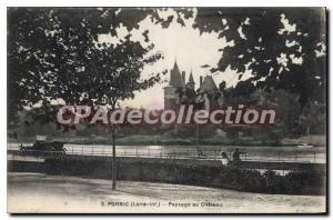 Postcard Ancient Pornic Loire Chateau Inf Landscape