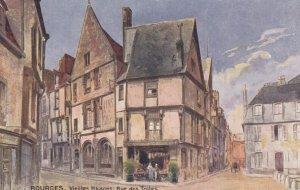 BOURGES, France, 1900-10s ; TUCK ; Vieiles Maisons , Rue des Toiles