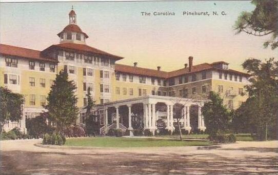 North Carolina Pinehurst The Carolina Albertype