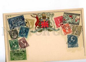 231949 CANADA British COLUMBIA Coat of arms STAMPS Old Zieher