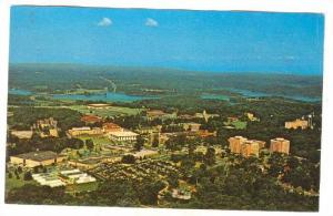 Aerial View Of Clemson University Campus, Clemson, South Carolina, 1940-1960s