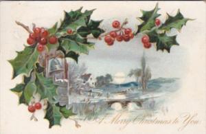 Tucks Merry Christmas To You 1905
