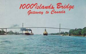 Gateway to Canada, 1000 Islands International Bridge, Wellesley Island, Thous...