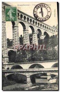 Postcard Old Roquefavour Aqueduct