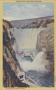 Nevada Boulder Dam Downstream Face