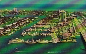 Aerial View Pier 66 Deluxe Hotel Fort Lauderdale Florida