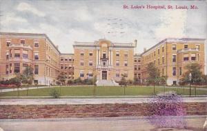 Saint Luke's Hospital Saint Louis Missouri 1913