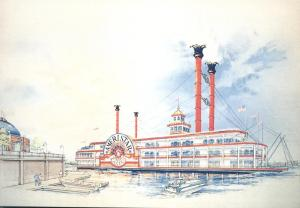 Ameristar Casino Steamship on Ohio River - Lawrenceburg, Ohio