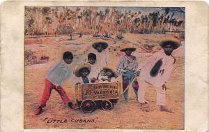 E25/ Black Americana Postcard c1910 Cuba Cubans Varnish Advertise 3