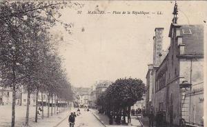 Place De La Republique, Mamers (Sarthe), France, 1900-1910s