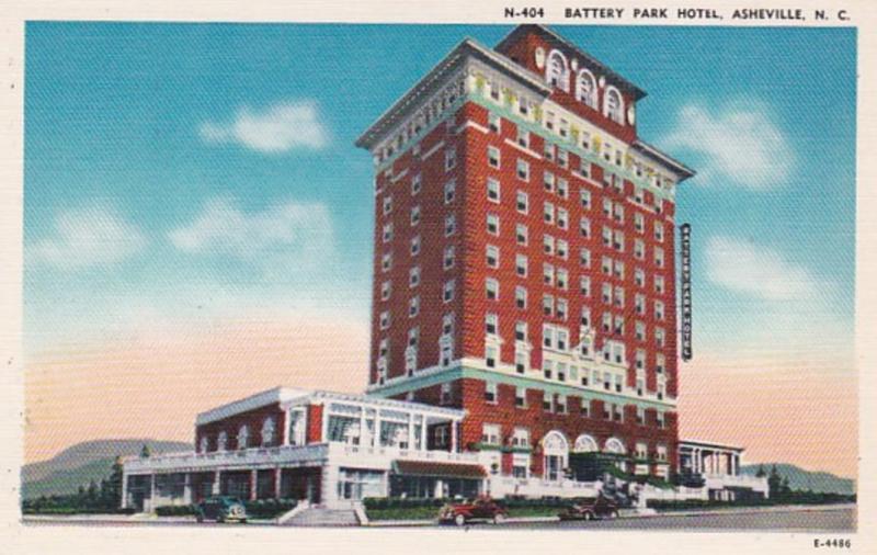 North Carolina Asheville Battery Park Hotel