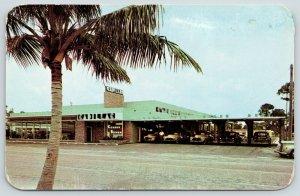 Fort Lauderdale Florida~Connor Brown Cadillac~Auto Car Dealership~Salesman~1953