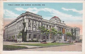 Public Library and Museum, Milwaukee, Wisconsin, 1910-1920s