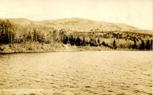 NH - Jaffrey. Reservoir near The Ark.   *RPPC