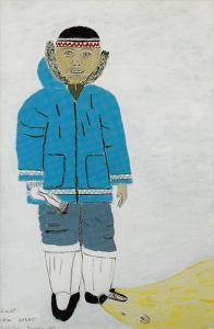 SANIRAJAK , Inuit Artist´s Community , HALL BEACH , N.W.T. , Canada , 1970-8...