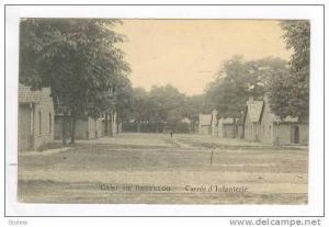 Camp de BEVERLOO, Carres d'Infanterie, PU-1916