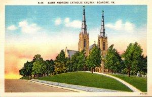 Virginia Roanoke Saint Andrews Catholic Church