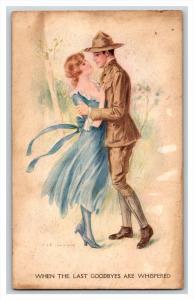 Archie Gunn WWI  Soldier and Girlfriend