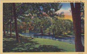 Lake In Forest Park Saint Louis Missouri