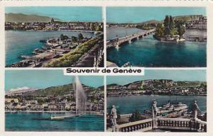 Schweiz Geneve Multi View Real Photo