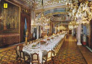 Gala Dining Room Royal Palace Madrid Spain