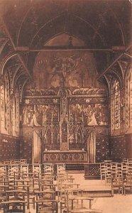 Interieur de a Basilique du St Sang L'Autel Bruges Belgium Unused