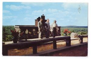 Cathedral of the Pines Removing Torah Rindge NH Postcard