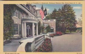 New York Hyde Park Home Of Franklin D Roosevelt Curteich