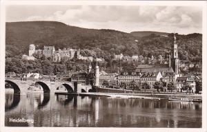 Germany Heidelberg Bruecke und Schloss Photo