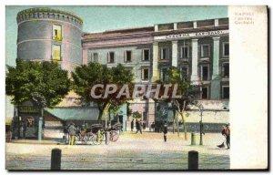 Postcard Old Napolei Caserna Garibaldi