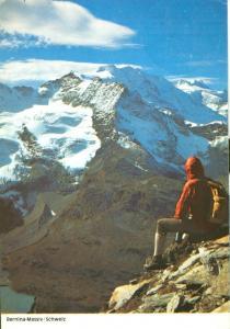 Switzerland, Suisse, Bernina-Massiv, 1981 used Postcard