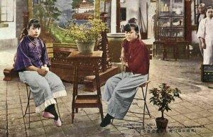 china, Beautiful Sing-Song Girls, Prostitutes Concubines Courtesans (1910s) IX